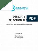 North Dakota Democratic Nonpartisan League 2020 **DRAFT** Delegate Selection Plan