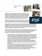 piedmont college stem endorsement - overview 1