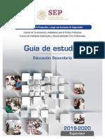 Guia Estudios para examen de promoción para supervisor