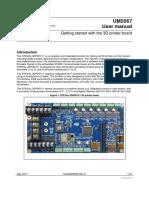 STEVAL-3DP001 User Manual