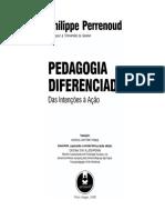 2.05 Pedagogia Diferenciada - Philippe Perrenoud(1)
