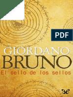 Bruno, Giordano - El Sello de Los Sellos