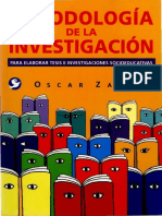 Zapata Oscar - La ruptura y construcción del objeto de investigación.PDF