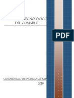 cuadernillo de lengua ingreso 1 año 2019