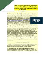 Le Témoignage Du Comte Alexandre de Chayla