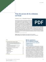 01 - Cirugía Del Disco Intervertebral Torácico