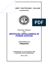 101434900-Seminar-Report-Artificial-Intelligence-in-Power-Station.doc
