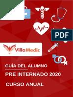 Guía Del Alumno - Pre Internado 2020 Anual