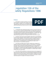 A Guide to Regulation 13A of the Pipelines Safety Regulations 1996