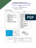 COMPARATIVA DE LEDS - DRIVERS y CONCLUSIONES..docx
