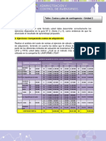 Taller Costos y Plan de Contingencias - Act. 2