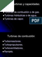 Tipos de Turbinas y Capacidades