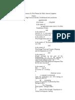 Specimen of a Writ Petition for Public Interest Litigation-Deeds-Miscellaneous-1875
