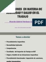 Clase 6 Inspecciones Materia SST