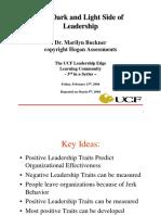 Dark side leadership