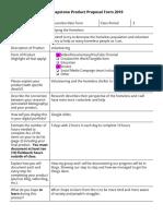 marcelina delatorre - ermert- senior capstone product proposal