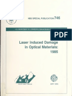 Laser induced Damage in optical materials 1985.pdf