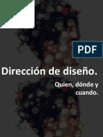 PPT Direccion de diseño