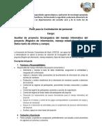Perfil Auxiliar proyectoAqua