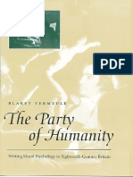 Professor Blakey Vermeule PhD - The Party of Humanity_ Writing Moral Psychology in Eighteenth-Century Britain (2000).pdf