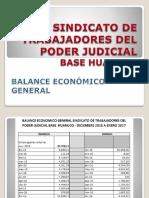 Balance Economico 2016
