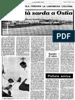 Messaggero ottobre 1969