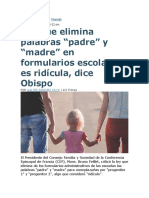 Palabra PAdre y Madre