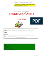 Evaluación por competencias - lengua - 2º ESO