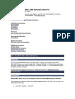 ADL SCORM 2004 RELOAD Editor Version 1.1 Readme File