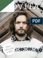 Novita NordicWool Men's Colourwork Sweater Free