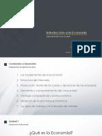 PPT - Introducción Economía