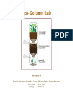 eco-column lab