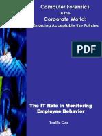Corporate Forensics