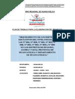 Plan de Trabajo Iniciales Huando-yauli-Acoria 1