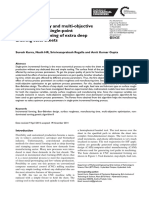 Parametric Study and Multi-objective Optimization in Single-point Incremental Forming of Extra Deep Drawing Steel Sheets