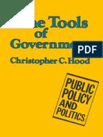 LIVRO HOOD The Tools of Government 1983.pdf