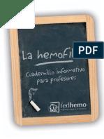 Cuadernillo Hemofilia Para Profesores