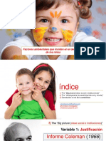 Factores ambientales que inciden en el desarrollo de los niños
