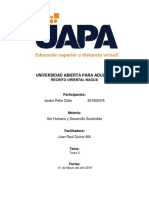 Tarea X - Ser Humano y Desarrollo Sostenible - Iandra Peña