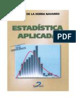 Estadistica aplicada (3ª edición) - Julián de la Horra Navarro.pdf