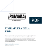 Vivir Afuera de La Esma _ Panamá Revista