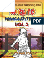 Naruto How to Draw Anime Characters Book Naruto Manga Edition Vol 2 We 3it Publication