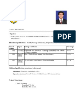 Ankitrajvanshi Resume