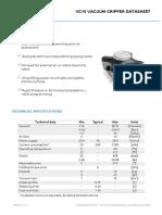 VG10 Vaccum Gripper Datasheet V1.1.1