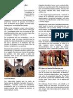 Mitos de Guatemala, Costumbres de Guatemala, Memoria de Antonimos y Sinonimos