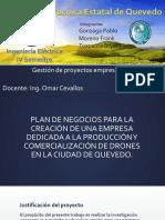 Plan de Negocios DRONES