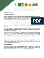 Documento respuesta de la oposición a objeciones de la JEP