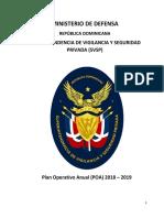 Plan Operativo Anual 2018-2019