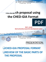 CHED-GIA
