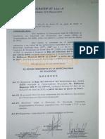 Decreto intendente Gualeguay reducción salario a vice